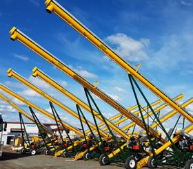 34′ Self Propelled Augers