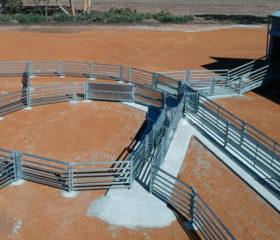 Permanent Sheep Yards- Kulin