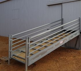 Custom Shearing Shed Ramp